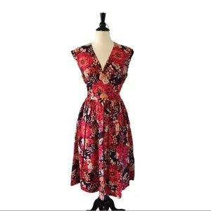 Garnet Hill Essential Voile Cotton Midi Dress 👗
